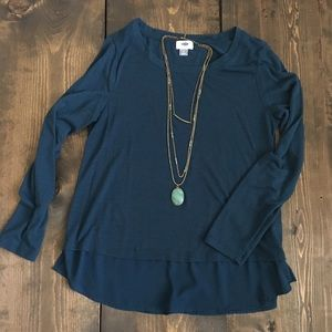 Old Navy Blue-Green Top